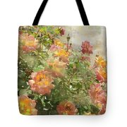 Rose Potpourri Tote Bag
