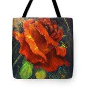 Rose Red Tote Bag
