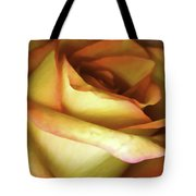 Rose Scan Softened Tote Bag