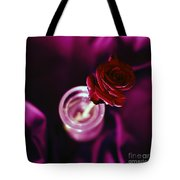 Rose Tote Bag by Stelios Kleanthous