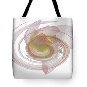 Rose Swirl Tote Bag