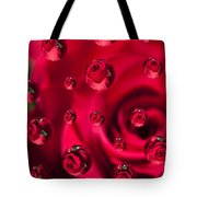 Rose Syrup Abstract 1 A Tote Bag