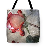 Rose To The Side 4 Tote Bag