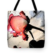 Rose To The Side 5 Tote Bag