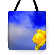 Rose To The Sky Tote Bag