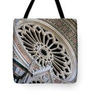 Rose Window Duomo Florence Tote Bag