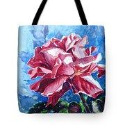 Rose Tote Bag by Zaira Dzhaubaeva