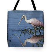 Roseate Spoonbill Hunting Tote Bag