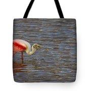 Roseatr Spoonbill   #4756 Tote Bag