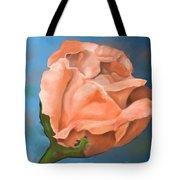 Rosebud Peaches And Cream Tote Bag