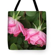 Roses After The Shower Tote Bag