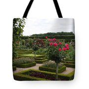 Roses And Cabbage -  Chateau Villandry Tote Bag