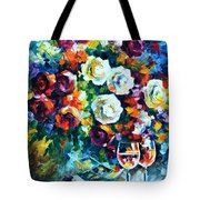 Roses And  Tote Bag
