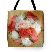 Roses Antiqua Tote Bag
