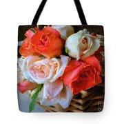 Roses Florentine Tote Bag
