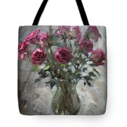 Roses For Viola Tote Bag by Ylli Haruni