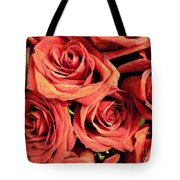 Roses For Your Wall  Tote Bag
