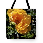 Roses Have Thorns Tote Bag