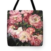 Roses In A Watercan Tote Bag