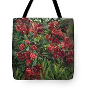 Roses In The Mountains Tote Bag