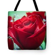 Roses In The Window Tote Bag