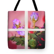 Roses Through The Window Tote Bag