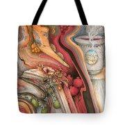 Rosh Hashanah Meditation Tote Bag