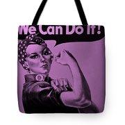 Rosie In Pink Tote Bag