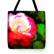 Rosie Red And White Tote Bag