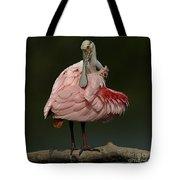 Rosiette Spoonbill Tote Bag