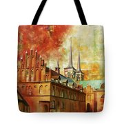 Roskilde Cathedral Tote Bag