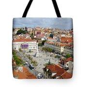 Rossio Square Tote Bag