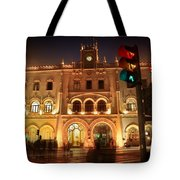 Rossio Train Station Tote Bag