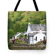 Rosthwaite In The Valley Of Borrowdale Lake District Tote Bag