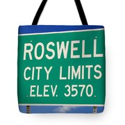 Roswell New Mexico Tote Bag