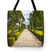 Rosy Path Tote Bag