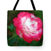 Rosy Reds And Whites Tote Bag