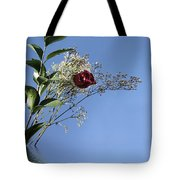 Rosy Reflection - Left Side Tote Bag