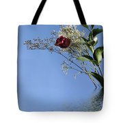 Rosy Reflection - Right Side Tote Bag