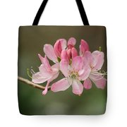 Rosy Rhododendron Tote Bag