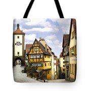 Rothenburg Marketplatz Tote Bag