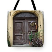 Rothenburg Ob Der Tauber Door  Tote Bag