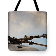 Rotor Navy Helicopter. Tote Bag