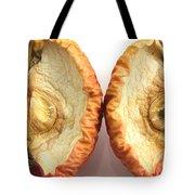 Rotten Apple Halves Tote Bag