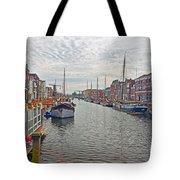 Rotterdam Canal Tote Bag