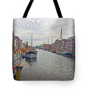 Rotterdam Canal Tote Bag