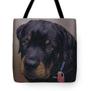 Rottweiler Dog Tote Bag