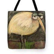 Rotund Bird Tote Bag