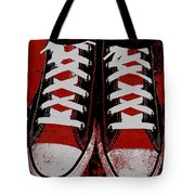 Rough And Red D Tote Bag