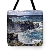 Rough Rocks Near Hana Tote Bag